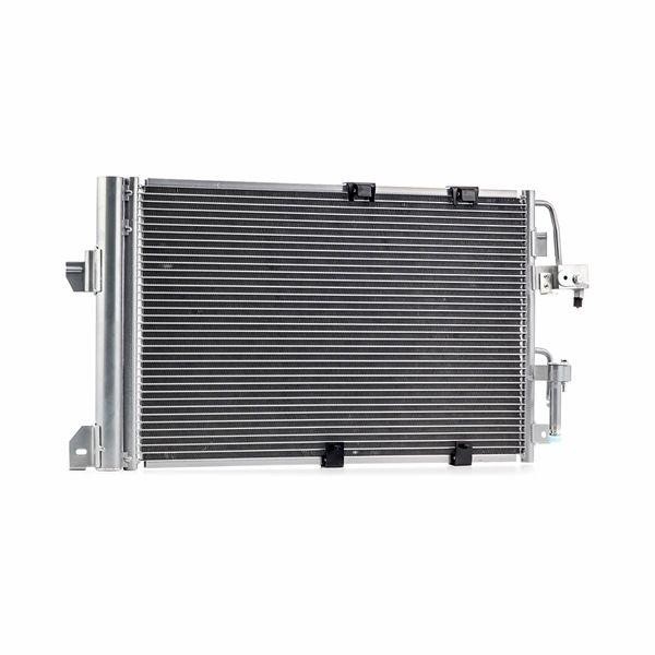 Kondensator, Klimaanlage Netzmaße: 600x380x16 mit OEM-Nummer 9119 176