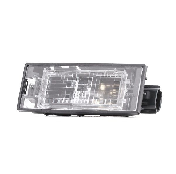 Number plate light bulb ABAKUS 8629553 Left and right, with bulb
