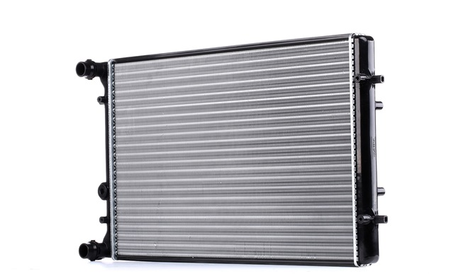 ABAKUS Radiador arrefecimento do motor VW Alumínio, Plástico, Caixa de velocidades manual/automática opcional