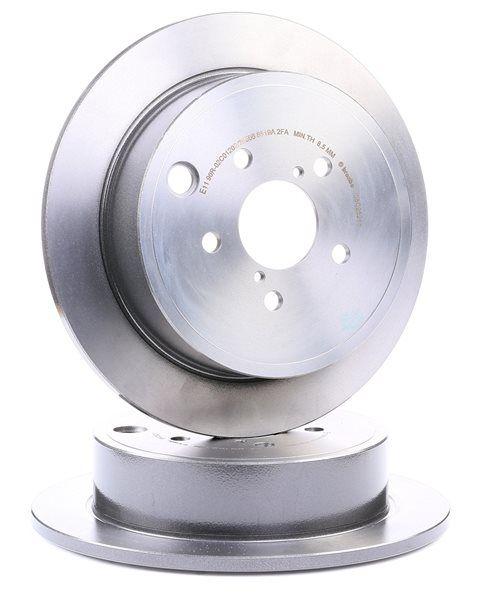BREMBO COATED DISC LINE Bromsskivor SUBARU Solid, belagd