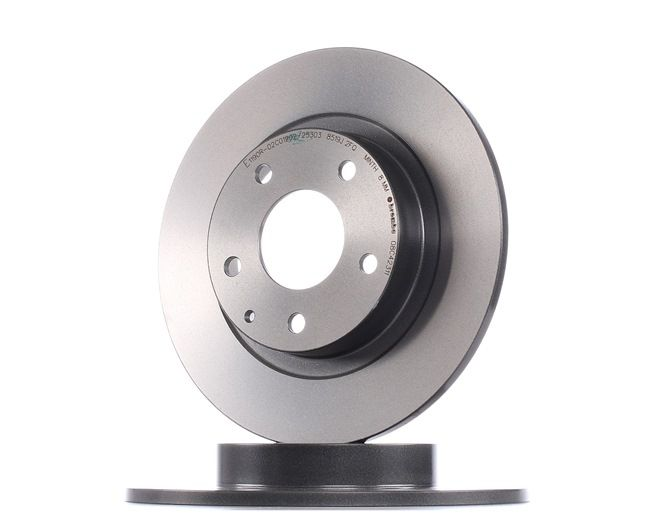 Brake discs and rotors BREMBO 8697589 Solid, Coated