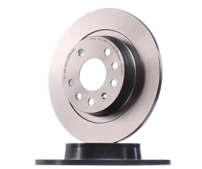 Bremsscheibe Bremsscheibendicke: 10mm, Lochanzahl: 5, Ø: 278mm mit OEM-Nummer 93 18 4247