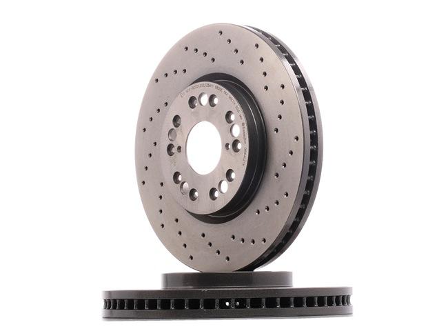 BREMBO 0984021X Disc brake set