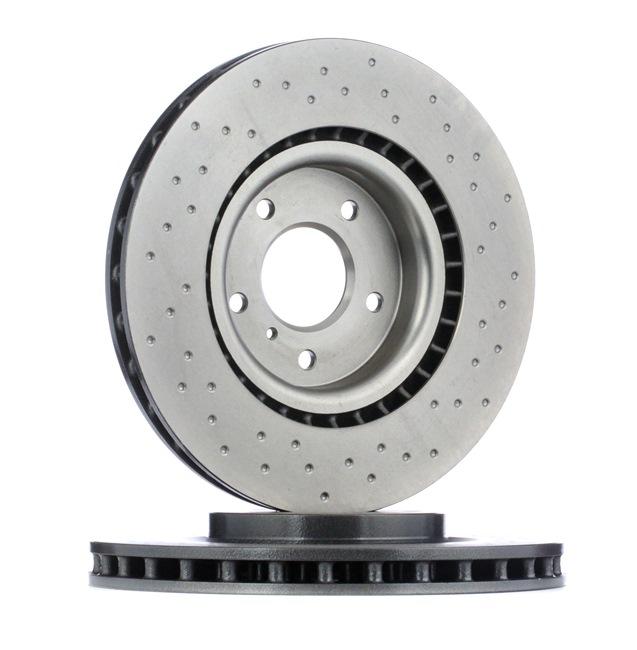 BREMBO XTRA LINE Frenos de disco NISSAN Perforado/ventil. int., revestido, altamente carbonizado