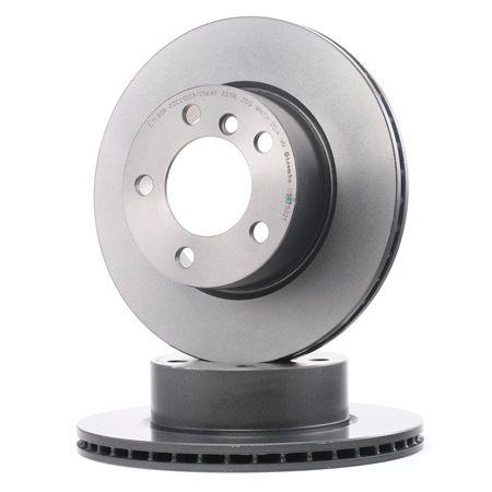 Bremsscheibe Bremsscheibendicke: 22mm, Lochanzahl: 5, Ø: 284mm mit OEM-Nummer 3411 6 792 215