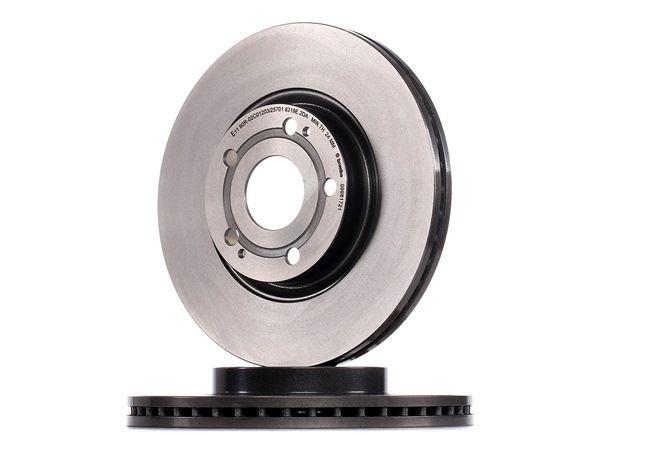 Bremsscheibe Bremsscheibendicke: 26mm, Lochanzahl: 5, Ø: 295mm mit OEM-Nummer 43512-0F010