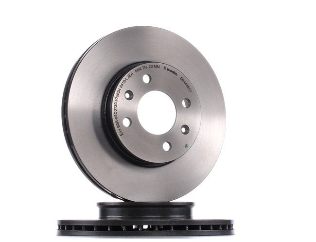 Brake discs and rotors BREMBO 8713939 Internally Vented, Coated, High-carbon