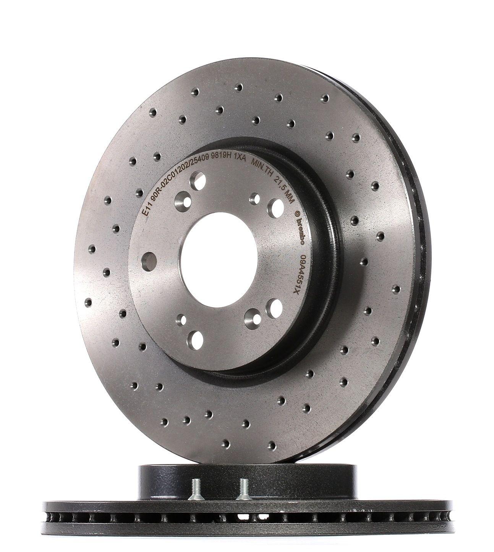 Brake Rotors BREMBO 09.A455.1X rating