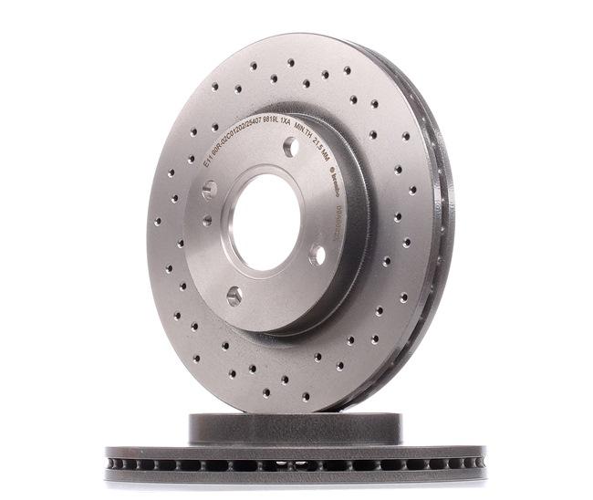 OEM Disque de frein BREMBO 09A9682X