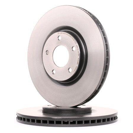 BREMBO COATED DISC LINE Innenbelüftet, beschichtet 09B35411