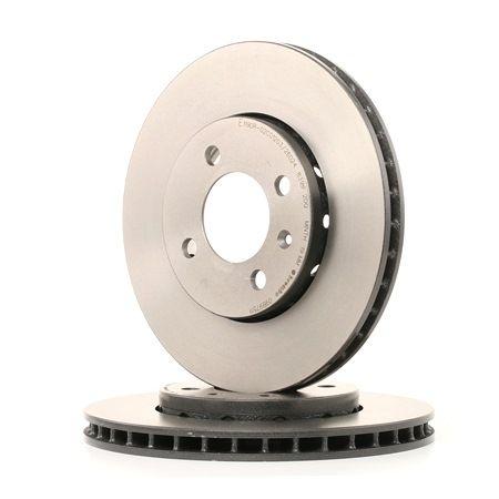 BREMBO COATED DISC LINE Bremseskiver indvendig ventileret, coatet, højkarboniseret, med skruer