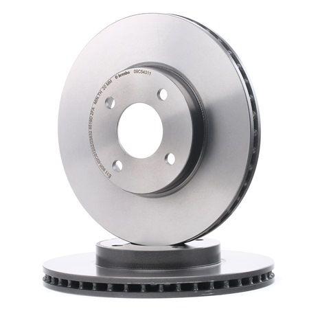 BREMBO COATED DISC LINE Innenbelüftet, beschichtet 09C54311