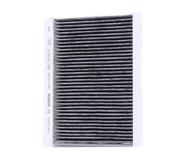 Filter, Innenraumluft Länge: 220mm, Breite: 157mm, Höhe: 30mm mit OEM-Nummer 71775824