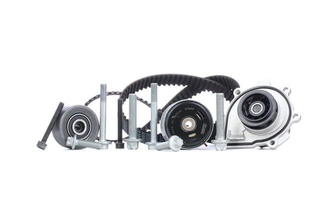 Timing belt kit and water pump BOSCH WASSERPUMPENSET Teeth Quant.: 146