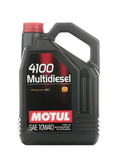 Aceite de motor MERCEDES-BENZ 10W-40, Capacidad: 5L, aceite parcialmente sintético