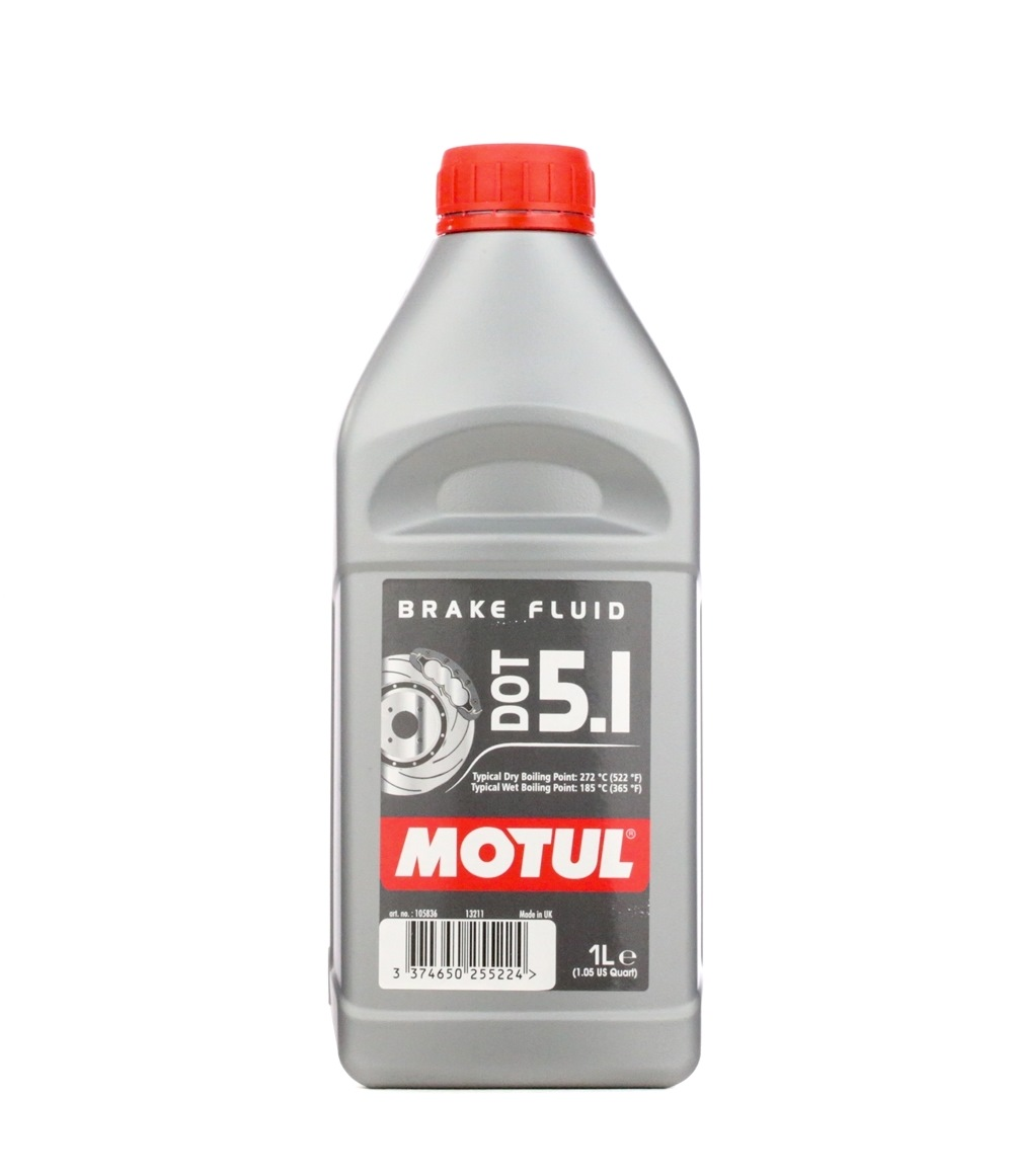 Bremsflüssigkeit MOTUL SAEJ1703 Bewertung
