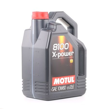 MOTUL 8100, X-POWER 106144 Motoröl