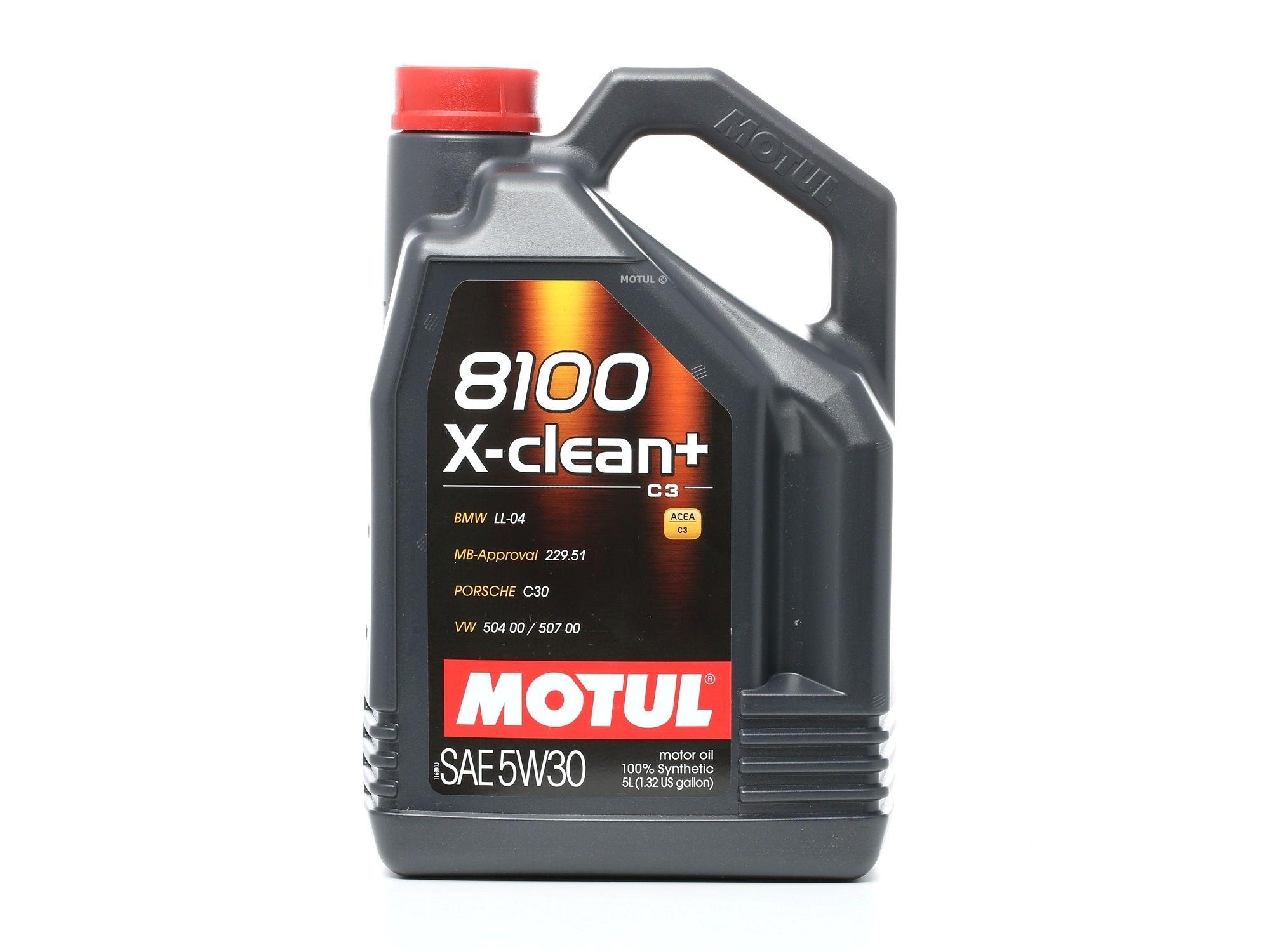 Aceite de motor MOTUL VW5040050700 evaluación