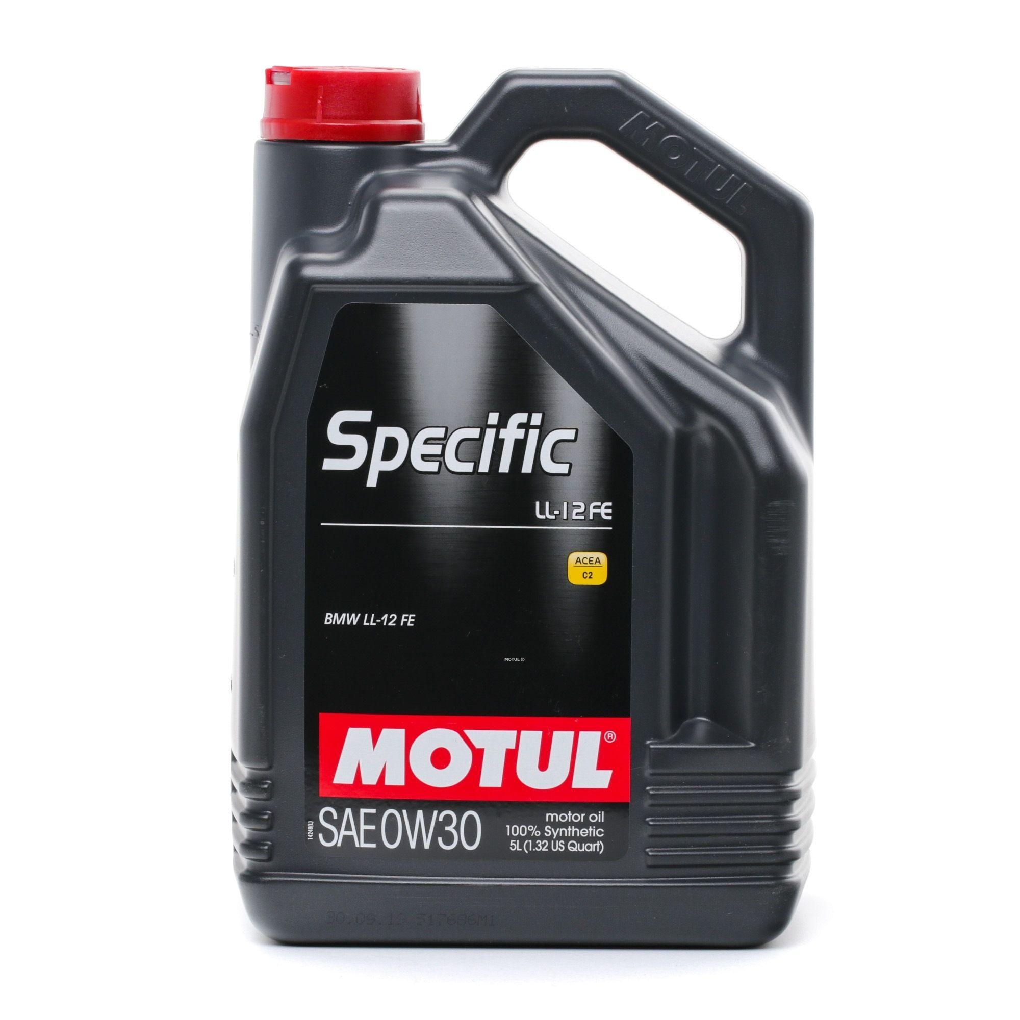 Olio motore MOTUL 0W30 valutazione