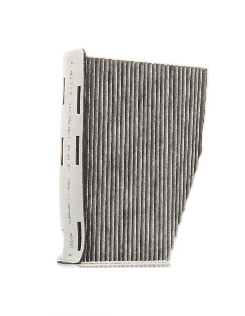 Filter, Innenraumluft Länge: 214mm, Breite: 285mm, Breite 1: 124mm, Höhe: 57mm, Breite 2: 162mm mit OEM-Nummer 1K1819653 B