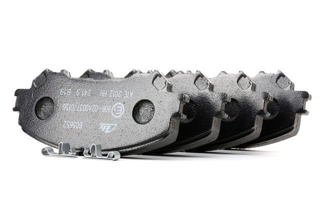 OEM Bremsbelagsatz, Scheibenbremse ATE 22065 für NISSAN