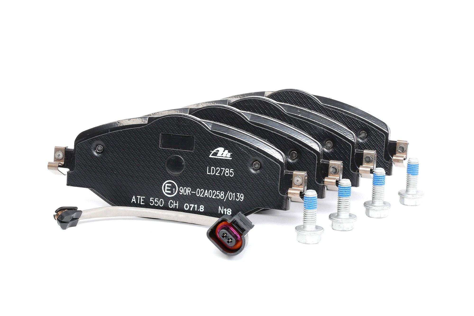 Disk brake pads ATE 25684 rating