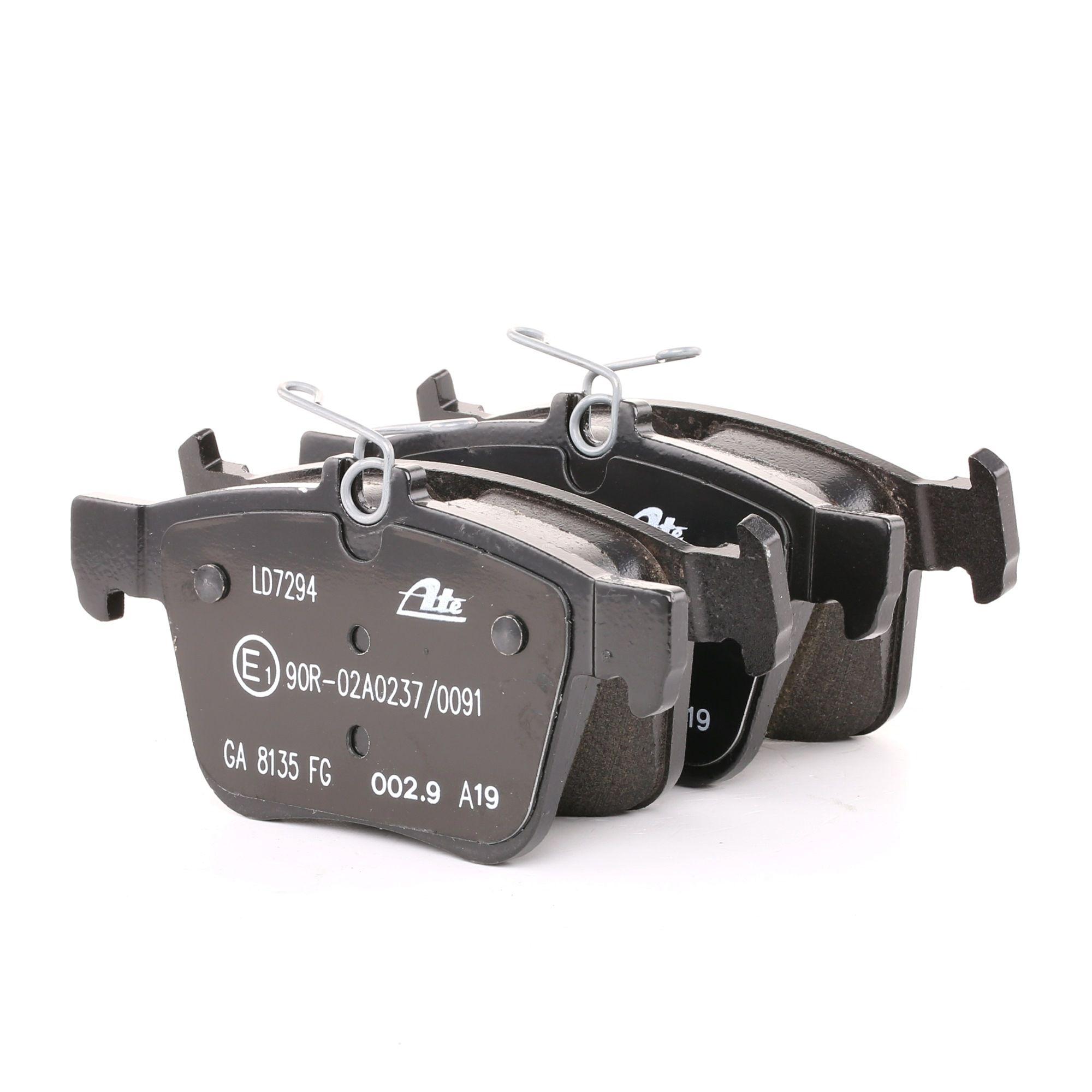Disk brake pads ATE 25009 rating