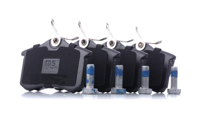 Bremsbelagsatz, Scheibenbremse Breite: 87,6mm, Höhe: 52,9mm, Dicke/Stärke: 16,0mm mit OEM-Nummer 1J0-698-451-K