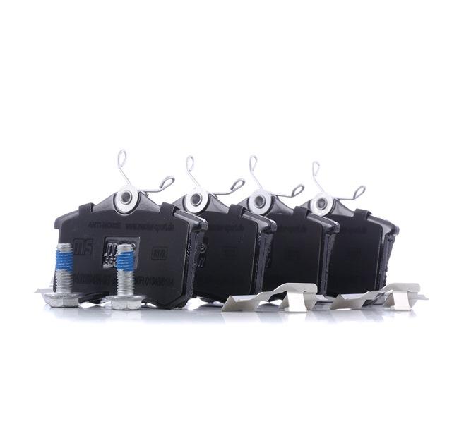 Bremsbelagsatz, Scheibenbremse Breite: 87,6mm, Höhe: 52,9mm, Dicke/Stärke: 17,2mm mit OEM-Nummer 1J0 698 451 P