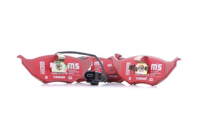 Bremsbelagsatz, Scheibenbremse Breite: 146,0mm, Höhe: 54,7mm, Dicke/Stärke: 19,6mm mit OEM-Nummer JZW-698-151