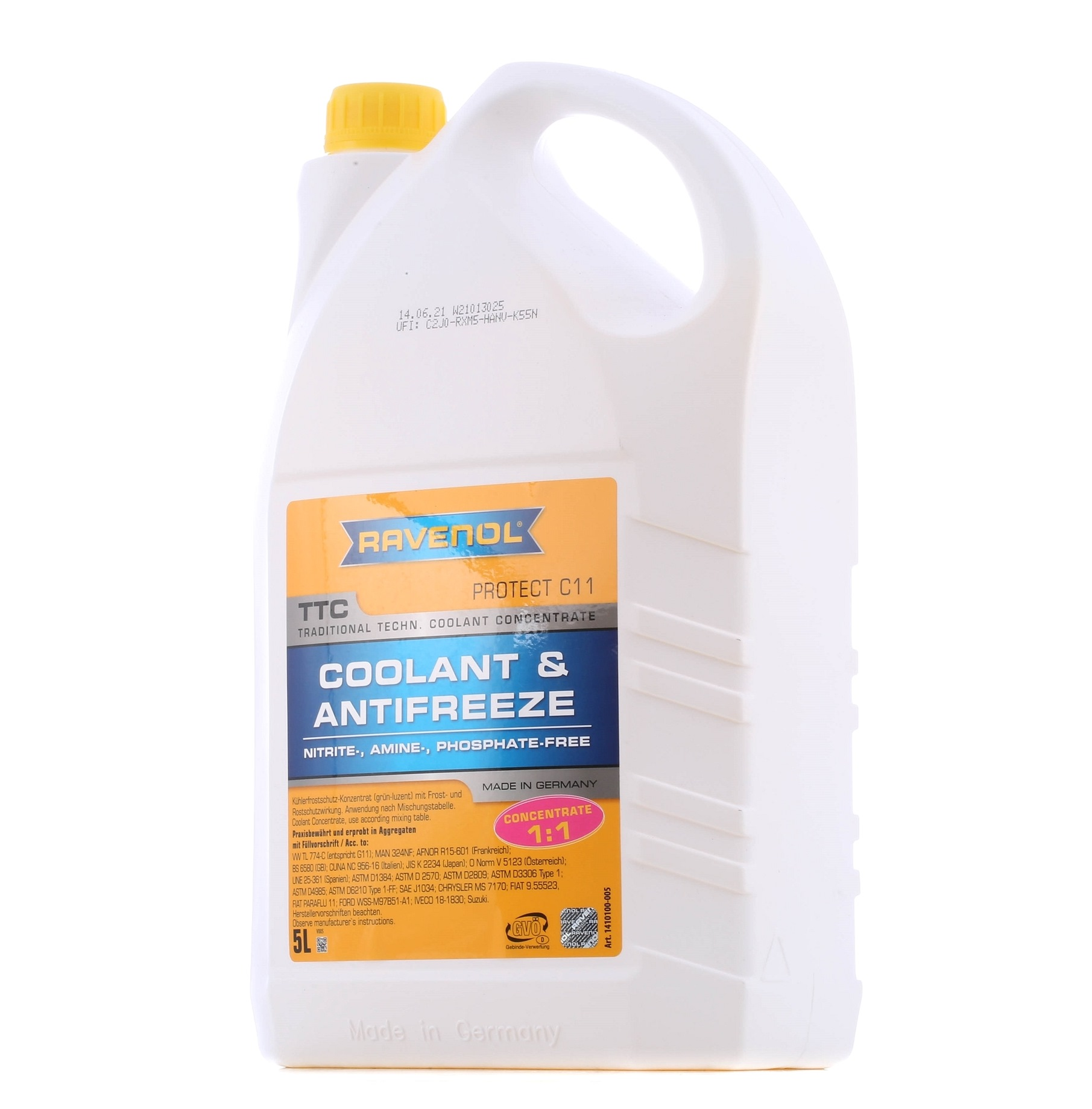Glycol antifreeze RAVENOL BMWGS94000 rating