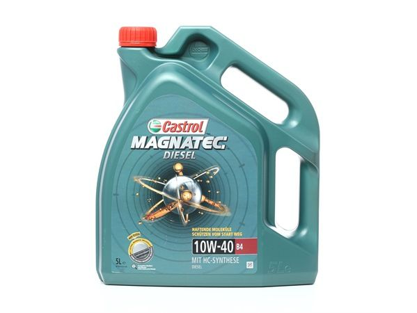 Buy cheap Engine oil from CASTROL Magnatec, Diesel B4, 10W-40, 5l for PEUGEOT online - EAN: 4008177047718
