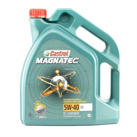 Buy cheap Engine oil from CASTROL Magnatec, C3, 5W-40, 5l online - EAN: 4008177071287