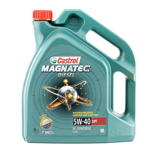 Buy cheap Engine oil from CASTROL Magnatec, Diesel DPF, 5W-40, 5l online - EAN: 4008177024610