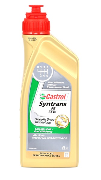 CASTROL SYNTRANS Manual Transmission Oil Capacity: 1l, 75W