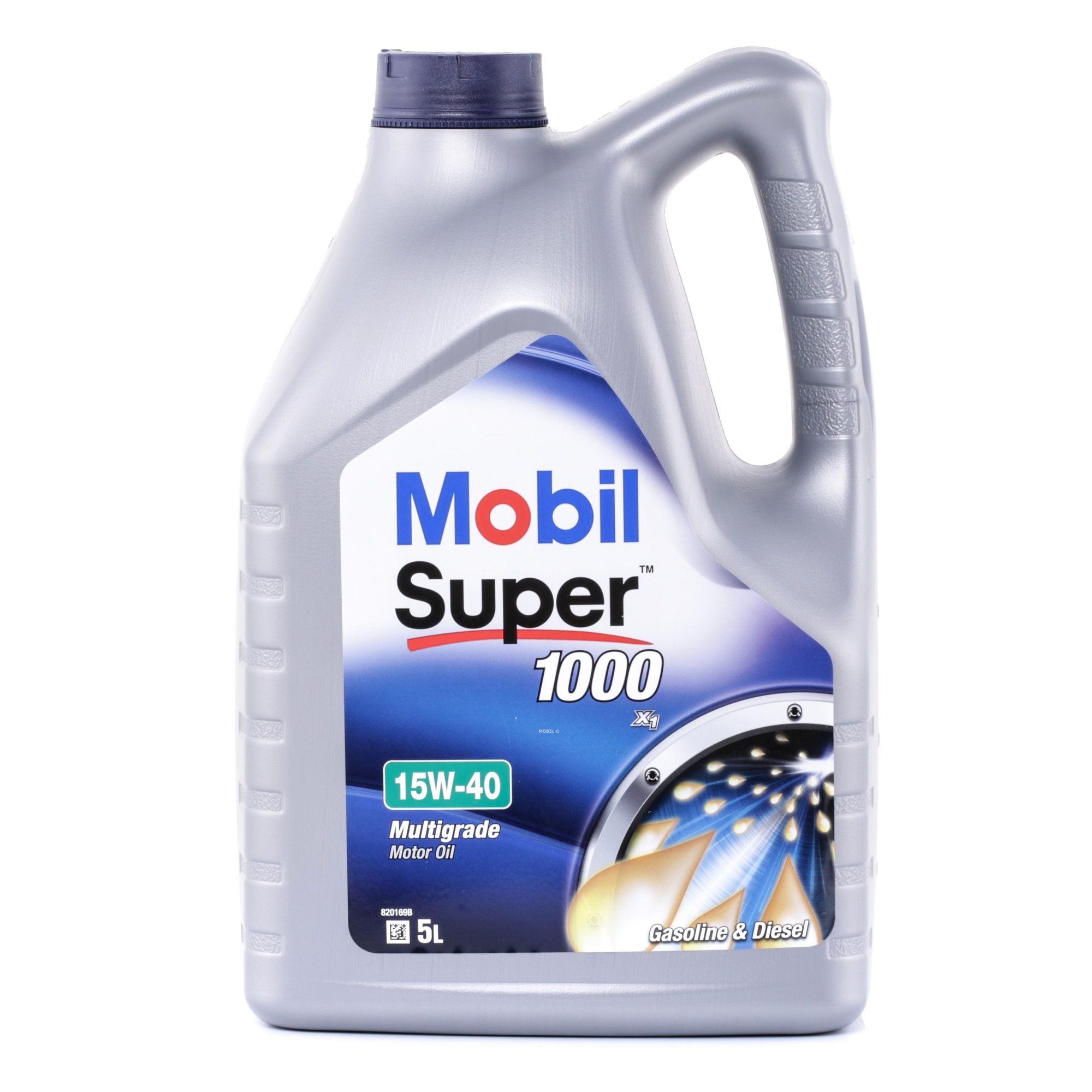 Двигателно масло MOBIL CF оценка