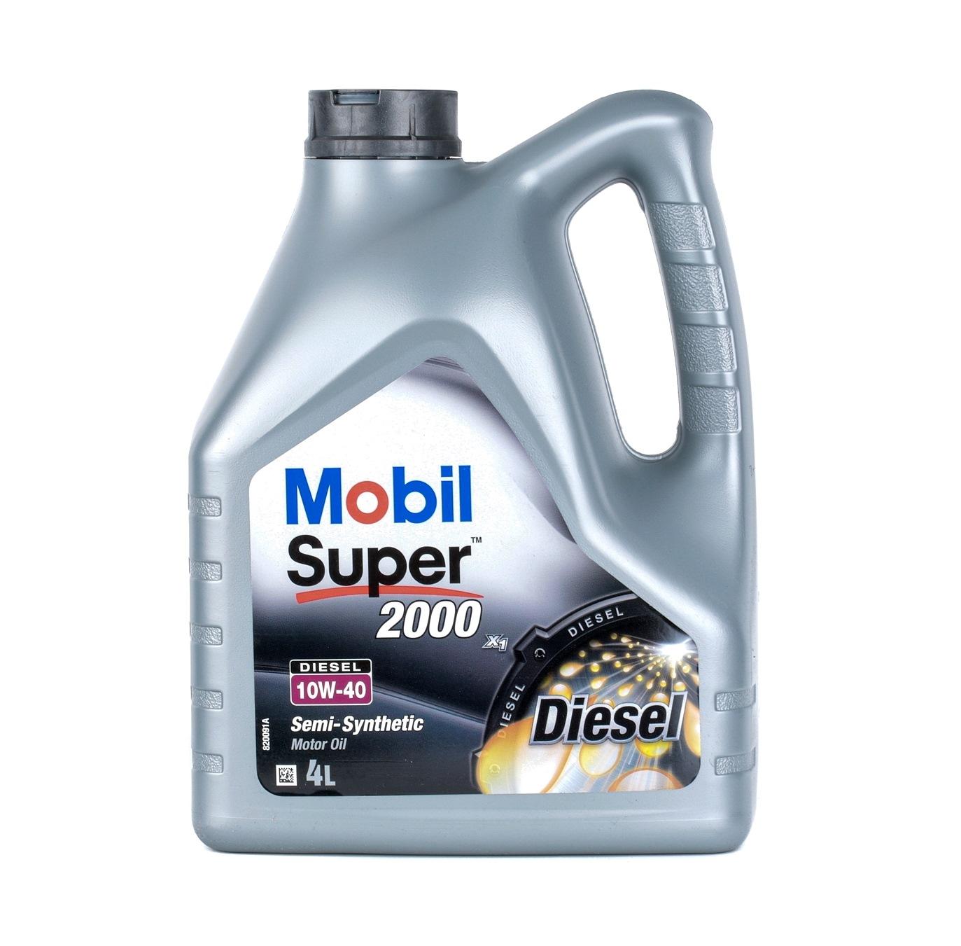Aceite de motor MOBIL VW50101 evaluación
