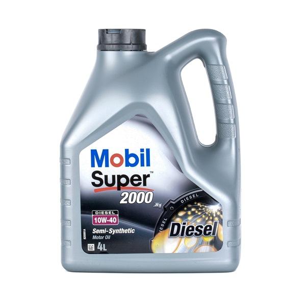 Aceite de motor UMM 10W-40, Capacidad: 4L, aceite parcialmente sintético