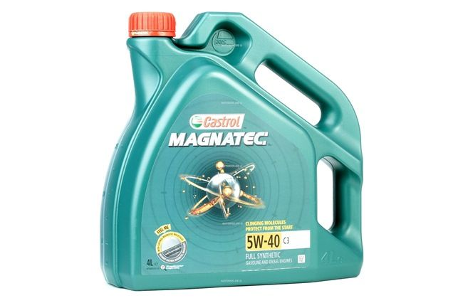 Buy cheap Engine oil from CASTROL Magnatec, C3, 5W-40, 4l online - EAN: 4008177123351