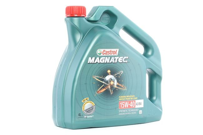 Buy cheap Engine Oil Magnatec, A3/B4, 15W-40, 4l from CASTROL online - EAN: 4008177122569