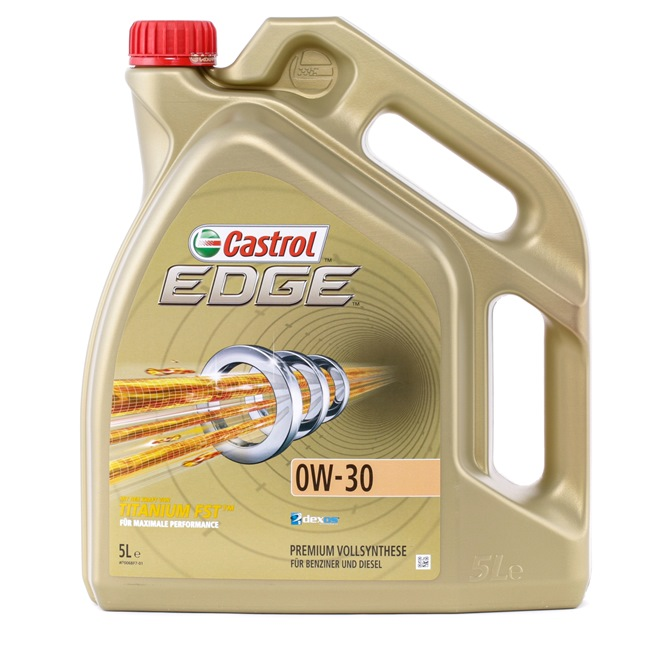 Buy cheap Engine oil from CASTROL EDGE TITANIUM FST, 0W-30, 5l online - EAN: 4008177024900