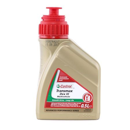 CASTROL ATF Power Steering Oil Capacity: 0,5l, DEX III MULTIVEHICLE