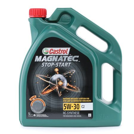 Buy cheap Engine oil from CASTROL Magnatec, Stop-Start C2, 5W-30, 5l online - EAN: 4008177124600