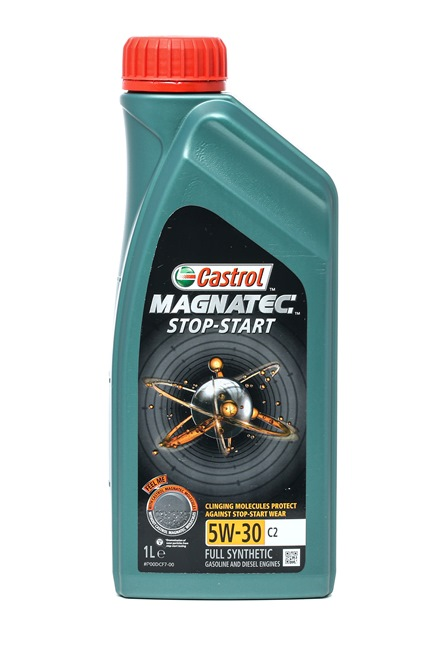 Buy cheap Engine oil from CASTROL Magnatec, Stop-Start C2, 5W-30, 1l for PEUGEOT online - EAN: 4008177124624