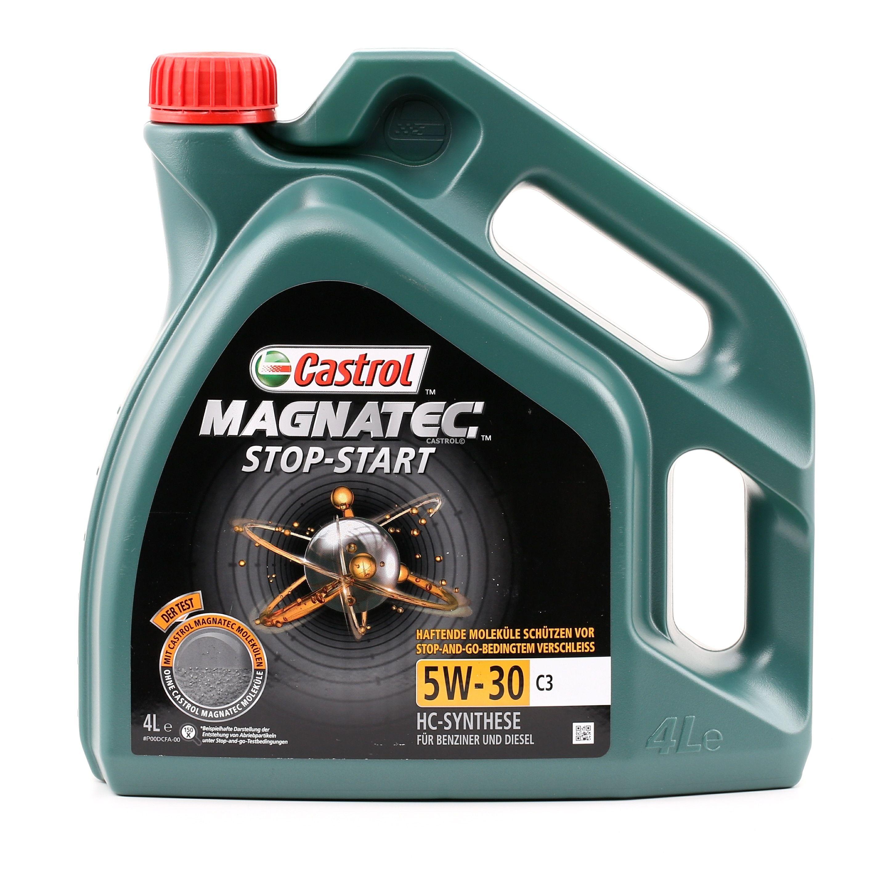 Aceite de motor CASTROL BMWLonglife04 evaluación