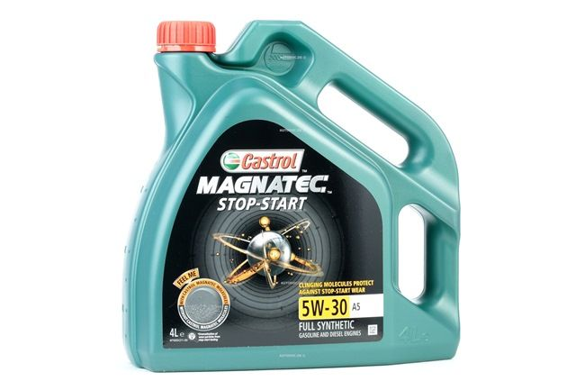 Buy cheap Engine oil from CASTROL Magnatec, Stop-Start A5, 5W-30, 4l online - EAN: 4008177124136