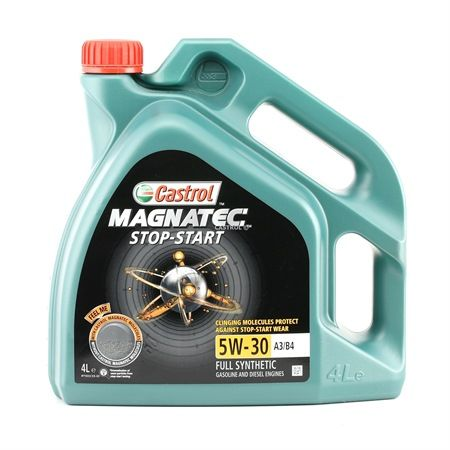 Buy cheap Engine oil from CASTROL Magnatec, Stop-Start A3/B4, 5W-30, 4l online - EAN: 4008177125867