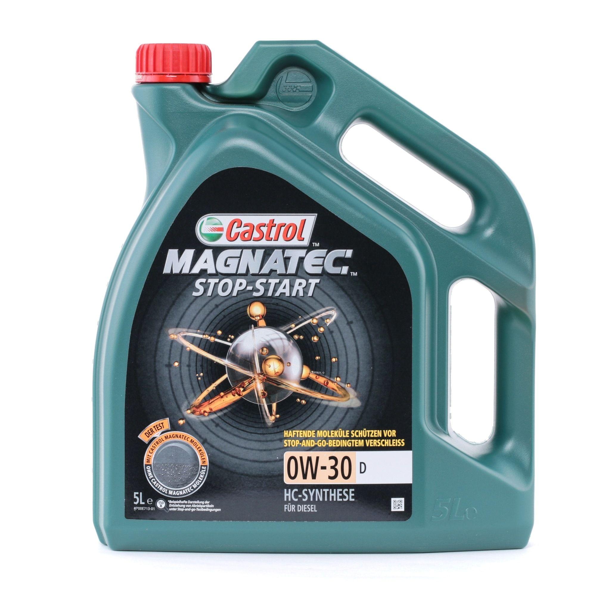 Olio motore CASTROL 0501CA107C27469195 valutazione