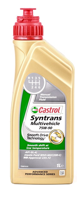 CASTROL SYNTRANS Manual Transmission Oil Capacity: 1l, 75W-90