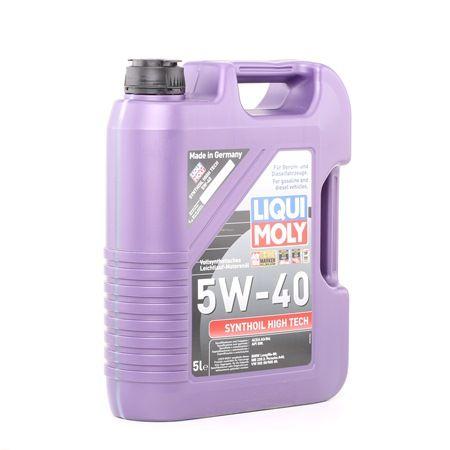 Motoröl Honda Stream 1 5W-40, Inhalt: 5l, Synthetiköl